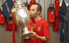Andres Iniesta, best player of Euro 2012