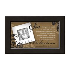 James Lawrence 7219 Son-There For You Framed Wall Art