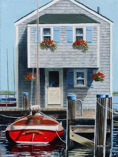 Charming Nantucket cottage. What's not to love? #nantucketwaterfront #nantucketcottage #capecod www.capecodrelo.com