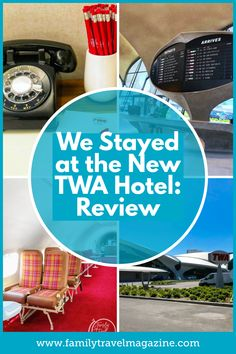 The new TWA hotel at JFK airport is a retro throwback to the old days of aviation. It's such a fun hotel and is conveniently located right at JFK's Terminal Bucket List Destinations, Travel Destinations, Nyc With Kids, Paris Cafe, Travel Magazines, Find Hotels, Amazing Adventures, Jfk