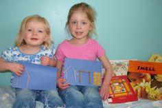 3 Little Pigs...build houses using toothpicks (straw), pretzel sticks (sticks) and square cereal pieces (bricks).