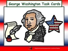 George Washington Task Cards can be used as a class game, in cooperative groups or as an ELA center. Learners answer 46 questions after reading and participating in activities about George Washington's  life, ideas and accomplishments. This lesson includes 46 task cards, keys, 2 award cards, links to printer-friendly student newspaper about Washington, videos and more.