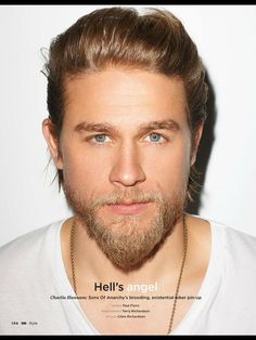 Charlie Hunnam, he's so yummy!