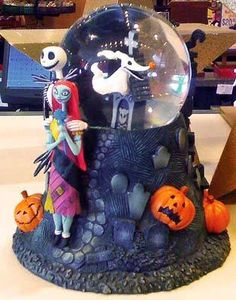 Disney Snowglobes Collectors Guide: Search results for nightmare