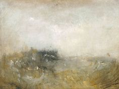 Rough Sea jmw turner
