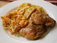 Czech Recipes, Chicken Wings, Poultry, Casserole, Chicken Recipes, Easy Meals, Food And Drink, Menu, Cooking Recipes
