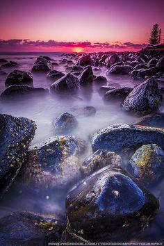 Sunrise at Burleigh Heads the Gold Coast,  via Flickr