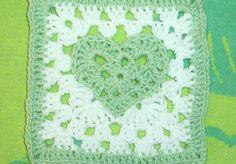 "Ravelry: Heart of a Granny 7"" x 7"" pattern by Donna Mason-Svara"