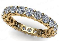 0.85 Karat Memory Diamantring aus 585er Gelbgold bei www.juwelierhauabt.de für nur 999.00 Euro bestellen!
