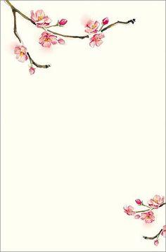 cherry blossom invitations template xMdEAelF