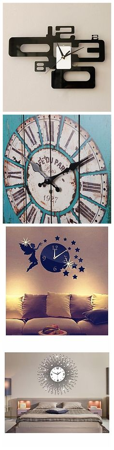 All the creative wall clocks! Which one do you like? We've modern, retro,cute, cool and more styles for your home décor! Click the picture and explore more!