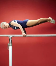 Meet Johanna Quaas, the world's oldest gymnast, per the Guinness Book of World Records. She's 86!