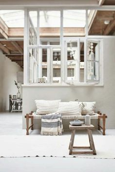 Love the light filled space!