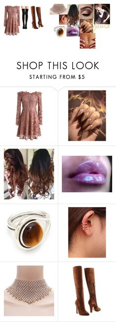 """diabolik lovers blood moon ball"" by getjinxed205 on Polyvore featuring Chicwish, Pamela Love and Dolce&Gabbana"
