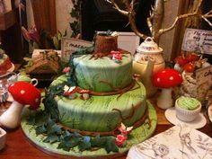 Woodland Fairy Cake | Pin Woodland Themed Birthday Cake Cake on Pinterest