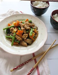 Chicken Stirfry Recipe. For recipe simplymycorner.worpress.com