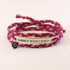 ID charm bracelet Hippie Chic, Cotton Thread, Evil Eye, Charmed, Bracelets, Beauty, Jewelry, Jewlery, Jewerly
