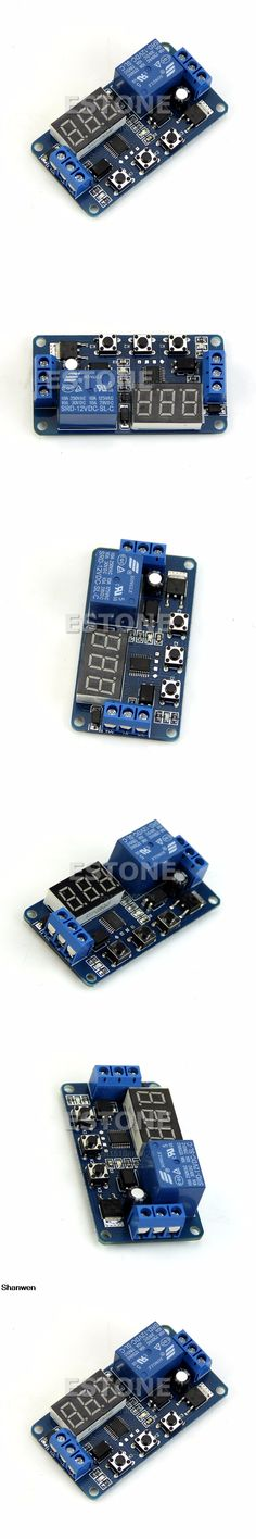 1pc 12V LED Home Automation Delay Timer Control Switch Relay Module Digital display
