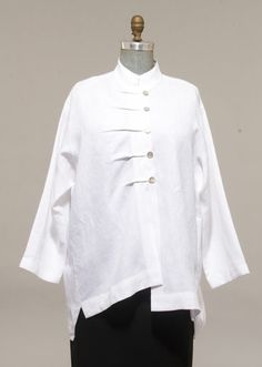 Tucked Linen Shirt