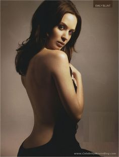 Emily blunt....Admit You Have a Girl Crush too...or a plain old crush