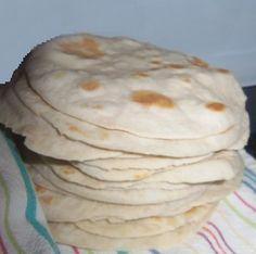 Tortillas (de harina) - homemade trumps store-bought any day!!