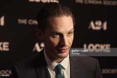 Actor Tom Hardy attends the A24 and The Cinema Society premiere of 'Locke' at The Paley Center for Media on April 22, 2014 in New York City.