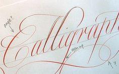 Técnicas de Caligrafía / Calligraphy Technique