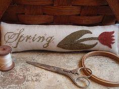 Winding Vine Wanderings using Stitcherhood Spring freebie design