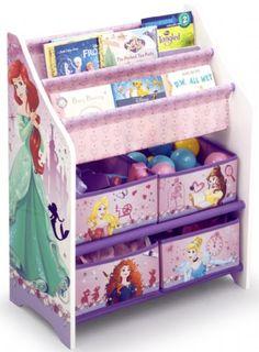 Disney Prinsesse opbevaringsreol - Disney Princess Reoler og skabe 046873 Shop - Eurotoys - Børnemøbler online