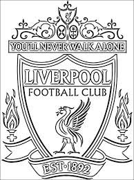 Best Printable: Liverpool fc coloring pages Football Liverpool, Liverpool Fc Badge, Liverpool Fc Champions League, Liverpool Fans, College Football, Tatouage Liverpool, Liverpool Tattoo, Anfield Liverpool, Borussia Dortmund