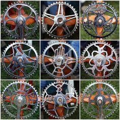 Bicycle Chainwheels by Leo Reynolds, via Flickr