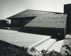 Leichter House Pointe Mecox, Bridgehampton, NY, 1975
