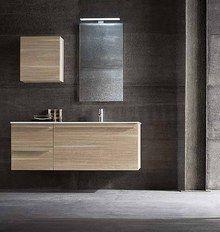 Mobile bagno con lavabo in vetro N04 - Atlantic ...