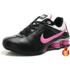 ... White Cushion5PU www.asneakers4u.com Womens Nike Shox R4 Black Pink ...
