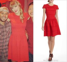 I wish I had her entire wardrobe! She has the best clothes! I just adore Taylor Swift!!!