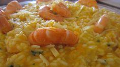 Rendimento para 6 pessoas   Ingredientes:   – 500 gr de arroz para risoto – existem várias marcas, eu costumo variar, mas o que mais ...