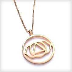 http://www.cottonandgems.com/jewellery/necklaces/24ct-yellow-gold-plated-ajna-brow-chakra-necklace #chakra