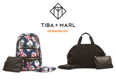 Tiba and Marl changing bags available at Lil' Beans.