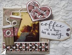 Created by Henriëtte: All you need is love All You Need Is Love, Hug, Coffee, Create, Cards, Design, Cupcakes, Kaffee, Cupcake