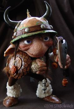 Knut by Studio Willich (he reminds me of a Froud goblin! So cute!)