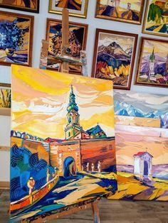 Novinka dokončená :-) Cestou na hrad, www.turzak-art.sk, #nitra #obrazynitry #turzakart #nitrianskyhrad Painting, Art, Craft Art, Paintings, Kunst, Gcse Art, Draw, Drawings, Art Education Resources