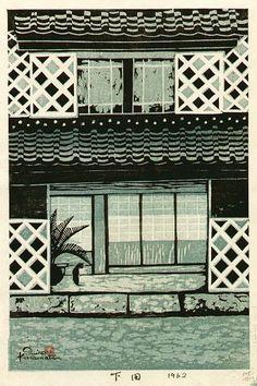 hanga gallery . . . torii gallery: Shimoda by Shiro Kasamatsu