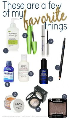 15 Minute Beauty Fanatic: My Current Favorites: 2012 Edition
