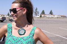 Tavia Sanza #jewelry #fashion #style #necklace #wire #blog #blogger #mystylespot http://mystylespot.blogspot.com/2013/07/luxury-at-its-finest-tavia-sanza-green.html#.UffZ3RZujGs