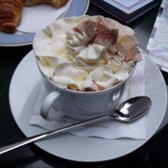 Cafe schober Zurich, Switzerland famous hot chocolate:) yum!!!