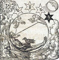 Hermes Trismegistus - Occvlta philosophia [x] Medieval, Alchemy Art, Esoteric Art, Occult Art, Mystique, Ancient Symbols, Sacred Geometry, Dark Art, Renaissance