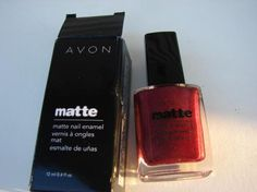 Red Velvet Nail Polish-Avon  $5.00