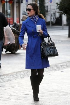 Pipa Middleton's Brilliant Blue matches the color for the wedding