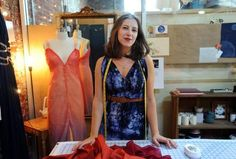 Behind the Seams: Sarahbeth Larrimore: Behind the Seams is a fashion series that asks local designers to take us on a tour of their closets.