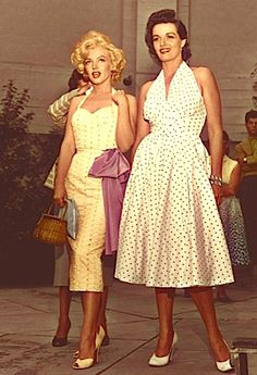 Marilyn Monroe and Jane Russell